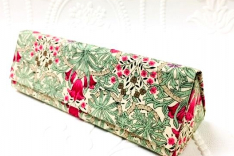 Make a French Cartonnage Folding Glasses Case