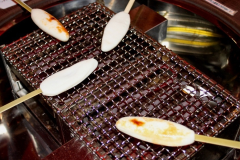 Hand-Grill a Kamaboko Fishcake  ~Main Shop~