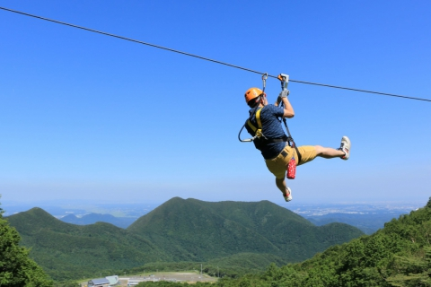Zip Line Adventure at Spring Valley Izumi Kogen