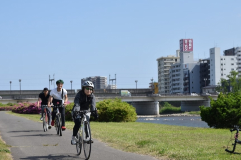 Riverside Cycling with Introduction to Miyagi Food Kingdom Delicacies!