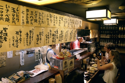 Back-alley Bar Hopping in Sendai