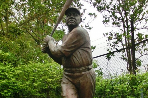 Babe Ruth Statue Viewing and Commemorative Photo