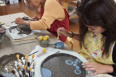 Experience Pottery in Sendai! 60-minute Hand Thrown Pottery Using Foot-bellows Plan