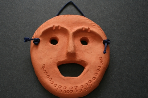 Mini Mask Making with Clay