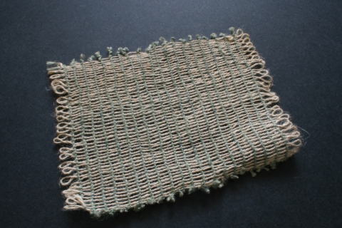 Linen Thread Mat Making