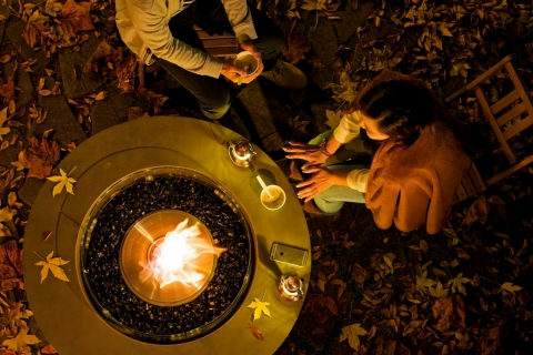 "Bonfire and Soup Fridays & Weekends at ""Illumination Forrest"""