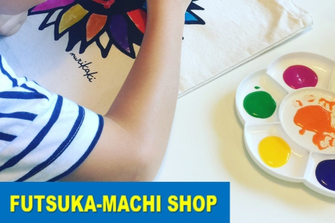 Paint Your Own Tote/Sacoche Bag (Futsuka-machi, downtown branch)