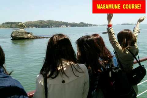 Matsushima Bay Leisure Cruise -Masamune Course-