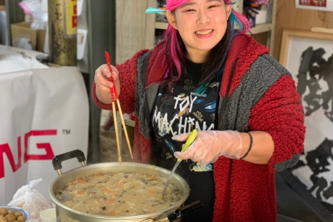 Chanko Nabe Hot Pot with Sendai Girls' Pro-Wrestling