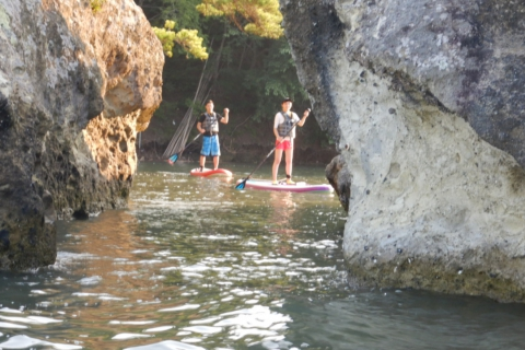 Luxury SUP Cruising Experience! Ride a Boat to a Secret SUP Paradise!