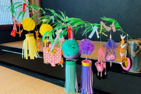 "The Seven Secrets of Tanabata! Make Tanabata Decorations and Learn About Sendai's Famous ""Star Festival"" at Mogasakian Teahouse!"