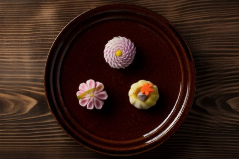"Making Elegant Japanese ""Wagashi"" Sweets & Tea Ceremony Experience at Mogasakian Teahouse"