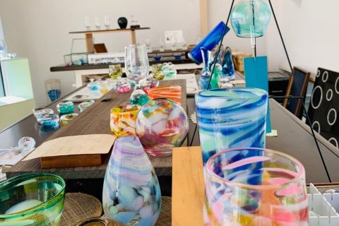 Akiu Glass Blowing Experience at Glass Studio Gen