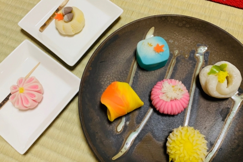 Traditional Japanese Sweets Making Experience in Sendai
