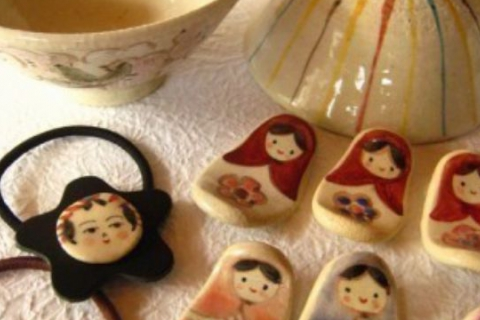 Ceramic Painting Experience in Togatta Onsen