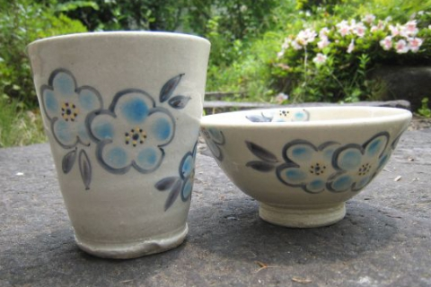 """Paint & Package-By-Post"" Ceramic Painting Experience in Togatta Onsen~ Teacups, Round Plates, Bowls!"