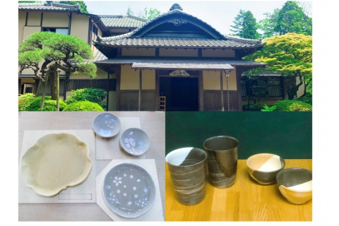 Ceramics Making & Tea Ceremony Experience at Mogasakian Teahouse