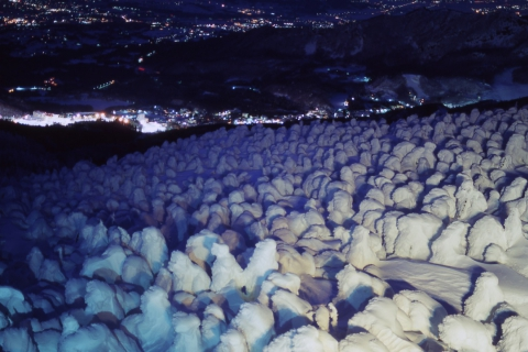 """GoTo! NIGHT TRIP to the Snow Monsters "" Departing From Kaminoyama Onsen, Yamagata Prefecture"