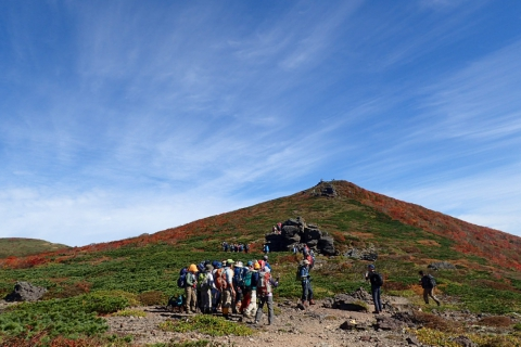 Mt. Kurikoma Guided Hiking Tour ~East Kurikoma Central Course~