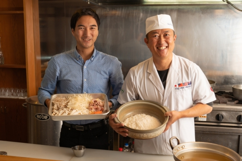Takikomi Rice  Workshop with Chef Sawatari