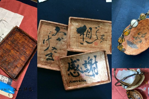 Calligraphy on eco-friendly materials